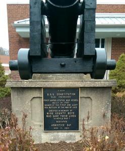 Norton Cannon plaque